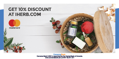 Special offer Mastercard + iHerb.com